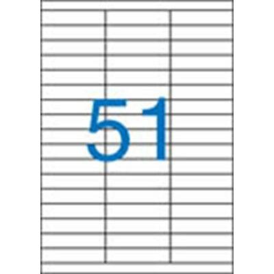 ETIKETT 70x16,9 mm-es