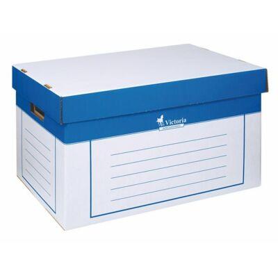 Archiváló konténer, 320x460x270 mm, karton, VICTORIA