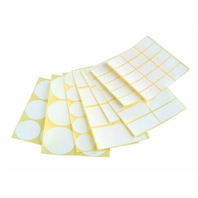 Etikett, köralakú, 30 mm átmérő, 60 etikett/csomag